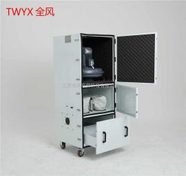 JC-11布袋式工业集尘机 11KW磨床粉尘高效除尘器
