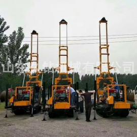 热销久钻履带式液压岩心取样钻机XYD-200地质勘探设备