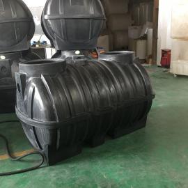 2立方生态化粪池一体化化粪池 PE化粪池滚塑一次成型