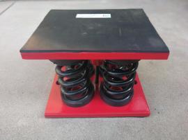 日通ZGT型坐式空调减震器 阻尼弹簧减震器 机床减震器在线报价