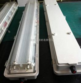 防爆全塑LED荧光灯YBLD双管2*18W日光照明灯