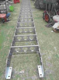 嵘实重型渗碳钢制拖链 TL框架式工业金属钢制拖链 不锈钢拖链