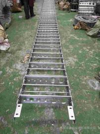 嵘实TL225型钢制拖链 框架式大型工业金属钢制拖链