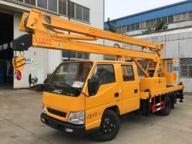 江特牌作业高度达到16米的江铃高空作业车