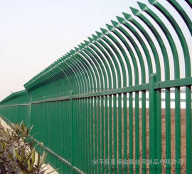 院墙锌钢护栏 锌钢道路围栏 住宅锌钢围栏
