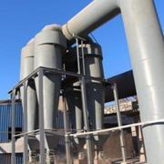 陶瓷多管降温阻火除尘器单管处理风量风速设计公式