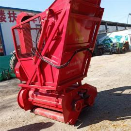 全自动二次粉碎收获机 二次除尘秸秆回收机 玉米秸秆切碎回收机