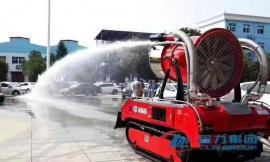 能远程控制消防机器人 能进危险区域远程消防机器人