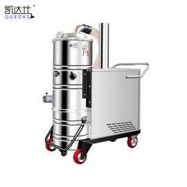 工厂车间吸面粉吸细微粉尘用380V大型工业吸尘器