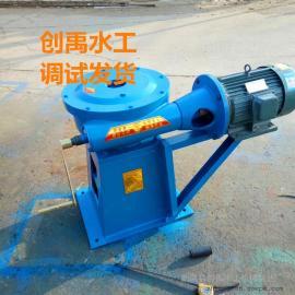 手电两用铸铁螺杆1.1KW启闭机的安装使用 创禹水工必出精品