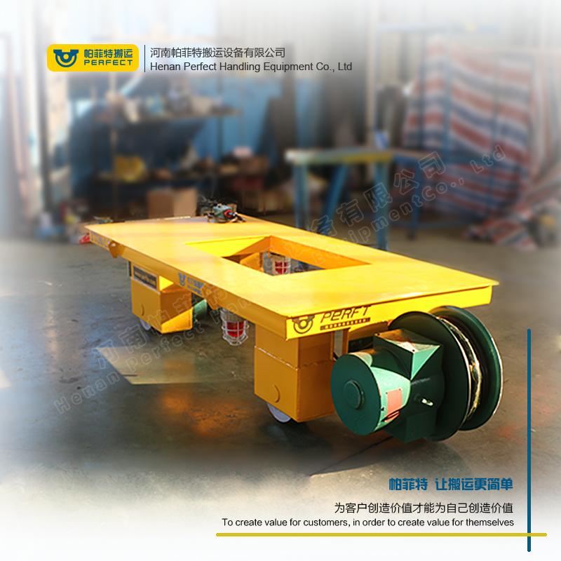 混凝土搬运过跨车 搬运管材轨道台车 预制构件专用有轨车