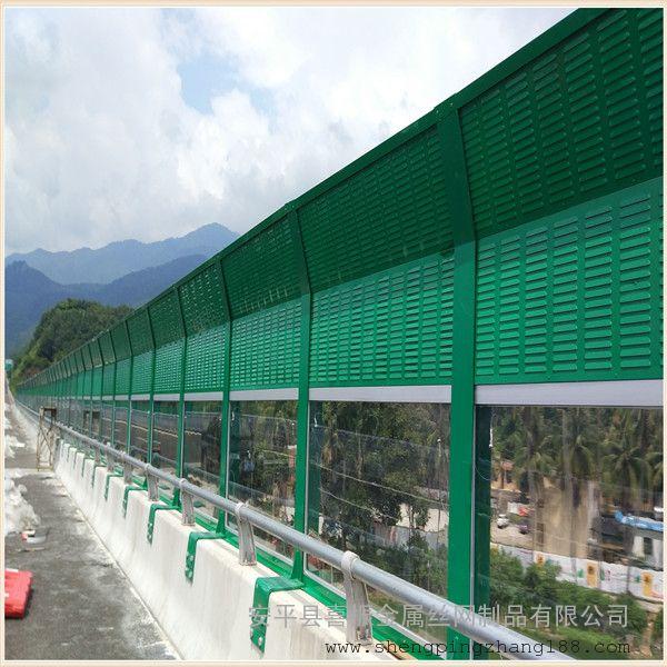 金属板声屏障安装注意事项 隔音墙规范设计