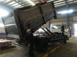 肉牛养殖厂清运粪便12吨-15吨密封自卸运输车