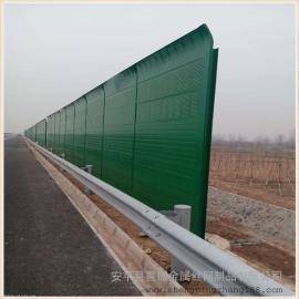 弧形声屏障 透明隔音屏障 公路隔音墙降噪