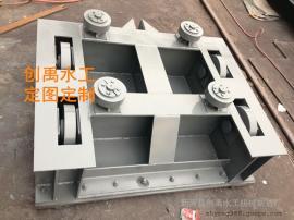 采购平面钢制闸门 水库平面定轮钢制闸门 创禹水工维修费用低
