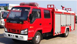 庆铃水罐消防车2.5立方(国五)