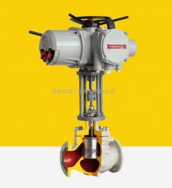 ZDLP-16C电子式电动蒸汽温度调节控制阀