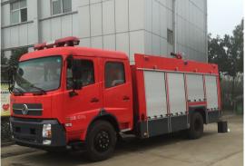 天锦6吨水罐泡沫消防车报价