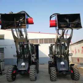 三能搅装1500型铲斗式搅拌机液压传动搅拌站多功能装载机
