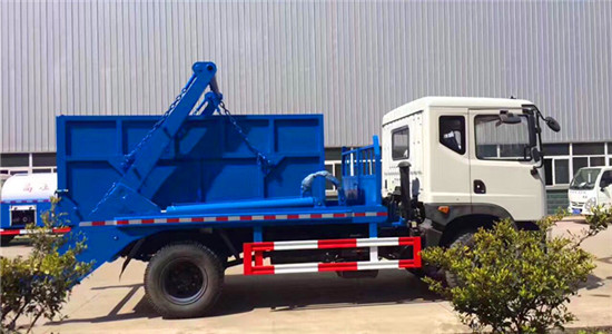 新款国六垃圾车东风大多利卡5方摆臂式垃圾车谷瀑环保网