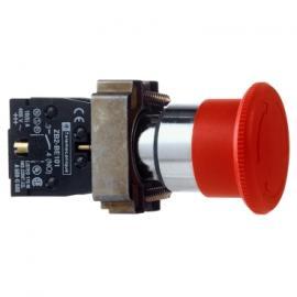 施耐德带灯按钮XB2BW36M1C指示灯XB2BVE3LC