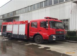 东风6吨水罐消防车报价