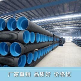 hdpe双臂波纹管生产 双壁波纹管DN800品质高