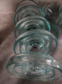 现货 LXP-120 LXWP-120 耐污型悬式钢化玻璃绝缘子 玻璃绝缘子