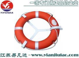 DF5555-2.5船用新标救生圈、海事用救生圈、4.3KG救生圈抛绳套装