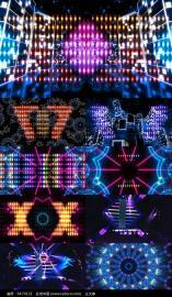 夜场网红多功能厅酒吧天幕DJ舞台LED显示屏定做那个型号好及价钱