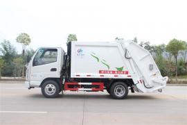 城市街道专用垃圾车东风天龙15方压缩式垃圾车