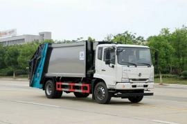 垃圾箱 垃圾车碳钢 不锈钢垃圾车东风天锦12方压缩式垃圾车