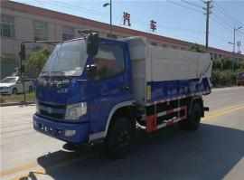 全密封设计的污泥运输车,滴水不漏污泥运输车