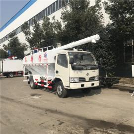 5吨不上户东风小型散装饲料罐运输车