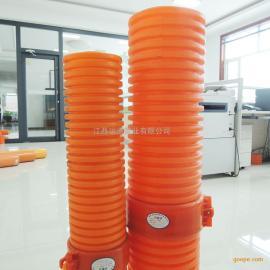 Mpp单壁波纹管 高压电力塑料穿线管HFB电力波纹管