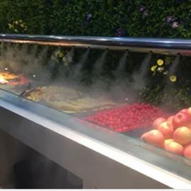 超市蔬菜水果水喷雾加湿器雾化加湿保鲜效果好