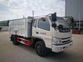 蓝牌压缩对接式垃圾车 时风垃圾填埋场对接式垃圾车