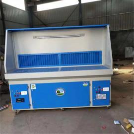 打磨除尘工作台木工脉冲粉尘收集工业集尘器平台移动式