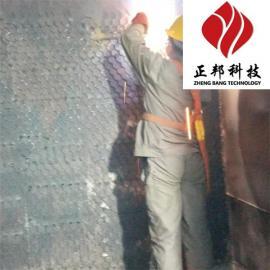 龟甲网耐磨胶泥在钢厂的地位无可替代