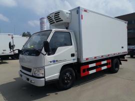 国五4米蓝牌冷藏车 冷藏车报价