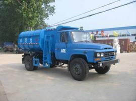 新款国六垃圾车长安3方挂桶垃圾车