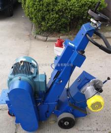 重型电动铣刨机 手推式混凝土凿毛机 电动路面打毛机