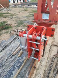 YFX系列龙门吊/门机/港口提梁机电力液压防风铁楔 安全防风装置