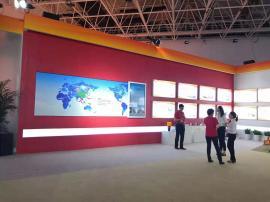 展馆展示交互式互动投影拼接墙,展馆互动滑轨屏实施方案
