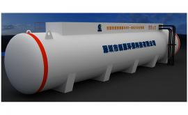 生活MBR污水处理设备250吨