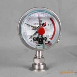 鑫昱YX-100电接点压力表 耐震电接点压力表