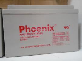 Phoenix�P凰蓄�池KB121500 12V150AH 直流屏�y控式�池