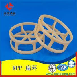 煤制气项目脱硫塔增强RPP扁环填料塑料增强聚丙烯DN76扁环