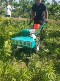 大型苗圃果园手推割草机 自走可调高低灌木杂草割草机