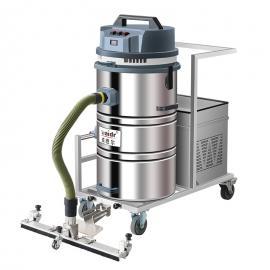 威德尔(WAIDR)吸工业粉尘用吸尘器移动式充电吸尘机不锈钢桶身吸尘设备WD-80P